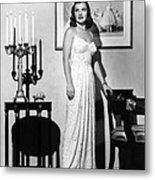 Ella Raines, 1946 Metal Print