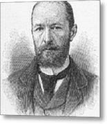 Emil Von Behring (1854-1917) Metal Print