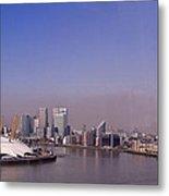 Emirates Cable Car Skyline Metal Print