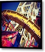 End Of The Pier Show Metal Print by Chris Jones