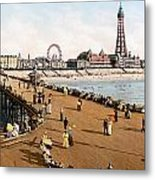 England: Blackpool, C1900 Metal Print