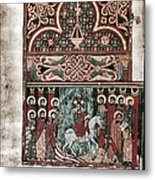 Entry Into Jerusalem Metal Print