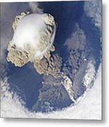 Eruption Of Sarychev Volcano Metal Print