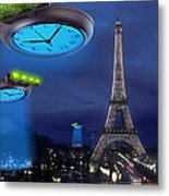 European Time Traveler Metal Print