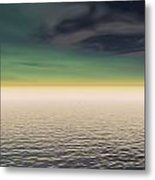 Expanse Of Water And Sky Metal Print