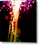 Explosion Of Lights Metal Print