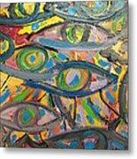 Eyes In Disguise Metal Print