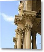 facade of Church of all Nations Jerusalem Metal Print