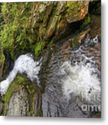 Fall Of Water Metal Print