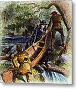 Father Jacques Marquette Metal Print by Granger