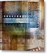 Film Negatives Metal Print