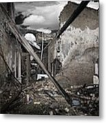 Fire Destruction, Artwork Metal Print by Victor Habbick Visions