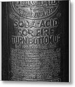 Fire Extinguisher Metal Print