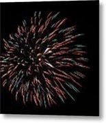 Fireworks Fun 3 Metal Print