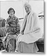First Lady Florence Harding 1860-1924 Metal Print
