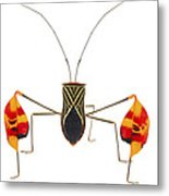 Flagfooted Bug Barbilla Np Costa Rica Metal Print