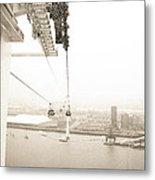 Flight Over The Thames Metal Print