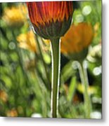 Floral Torch Metal Print