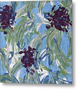 Flowers For Celeste Metal Print
