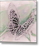 Flutter Metal Print