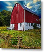 Fly Over Country Metal Print