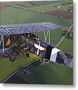 Fokker D.vii World War I Replica Metal Print