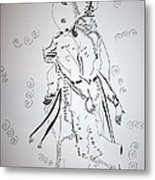 Folk Dance - Denmark Metal Print