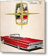 Ford Avertisement, 1959 Metal Print