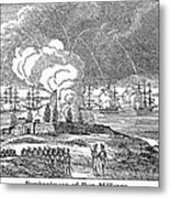 Fort Mchenry, 1814 Metal Print