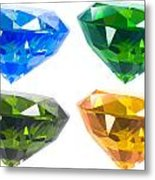 Four Diamond Metal Print