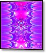 Fractal 16 Purple Passion Metal Print