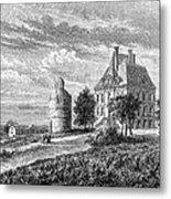 France: Wine Ch�teau, 1868 Metal Print