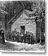 Freedmen School, 1868 Metal Print by Granger