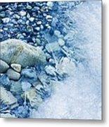 Freezing River Metal Print by Jeremy Walker