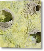 Fumarole Deposits In The Dallol Metal Print