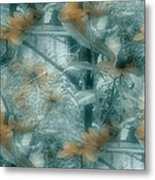 Garden Reverie Three Metal Print