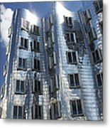Gehry's Der Neue Zollhof Buildings Metal Print