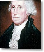 George Washington, 1st American Metal Print