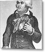 Georges Danton (1759-1794) Metal Print