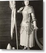 Geraldine Farrar (1882-1967) Metal Print