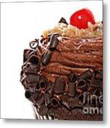 German Chocolate Cupcake 2 Metal Print