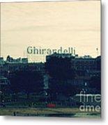 Ghirardelli Square Metal Print