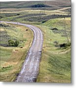 Ghost Town Galilee Saskatchewan Metal Print