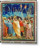 Giotto: Betrayal Of Christ Metal Print