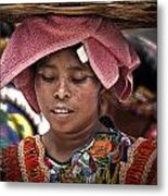 Girl Of Almolonga Metal Print