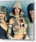 Girlfriends Metal Print