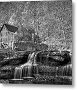 Glade Creek Grist Mill At Babcock Metal Print