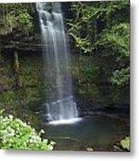 Glencar Waterfall, Co Sligo, Ireland Metal Print