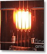 Glowing Filament 4 Of 4 Metal Print