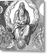 God Resting On 7th Day Metal Print